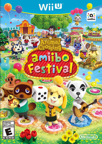 Caja de Animal Crossing amiibo Festival (Ámerica)