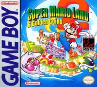Caja de Super Mario Land 2 (América)
