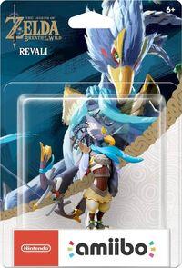 Embalaje americano del amiibo de Revali - Serie The Legend of Zelda