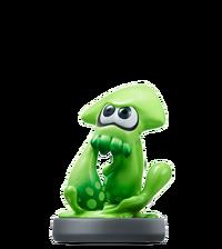 Amiibo Inkling calamar - Serie Splatoon