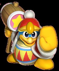 Rey Dedede en la saga de Kirby