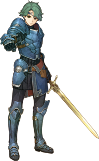 Artwork Alm - Fire Emblem Echoes Shadows of Valentia