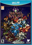 Caja de Shovel Knight (Wii U) (América)