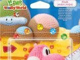 Yoshi de Lana rosa - Yoshi's Woolly World