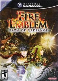 Caja de Fire Emblem Path of Radiance (América)