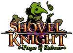 Logo de Shovel Knight - Plague of Shadows