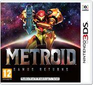 Caja de Metroid - Samus Returns (Europa)