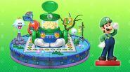 Tablero Luigi amiibo Party - Mario Party 10