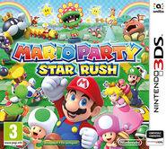 Caja de Mario Party Star Rush (Europa)