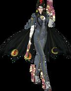 Diseño de Bayonetta en Bayonetta