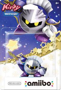 Embalaje americano del amiibo de Meta Knight - Serie Kirby
