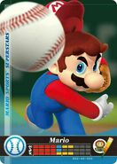 Amiibo Mario (Béisbol) (Occidente) - Serie Mario Sports Superstars