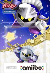 Embalaje europeo del amiibo de Meta Knight - Serie Kirby