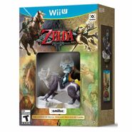 Pack de The Legend of Zelda Twilight Princess HD y amiibo de Link lobo (América)
