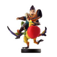 Amiibo Qurupeco y Dan - Serie Monster Hunter