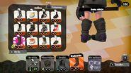 Detalle de la parte trasera de la bota ninja - Splatoon 2