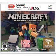 Caja de Minecraft New Nintendo 3DS Edition
