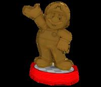 Estatua Ídolo bigotudo - Hey! Pikmin