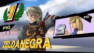 Victoria de un amiibo de un combate - Super Smash Bros. for Wii U