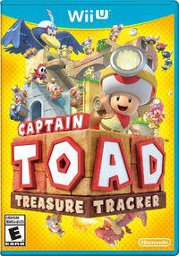 Caja de Captain Toad Treasure Tracker (América)