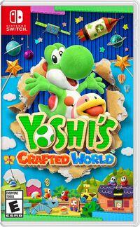 Caja de Yoshi's Crafted World (América)
