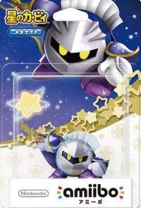 Embalaje japonés del amiibo de Meta Knight - Serie Kirby
