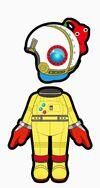 Atuendo de Olimar - Mario Kart 8