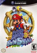 Caja Super Mario Sunshine (América)