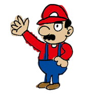 Retrato amiibo de Mario - WarioWare Gold