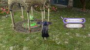 Menú de selección de opción en el pabellón amiibo - Fire Emblem Three Houses