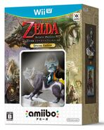 Pack de The Legend of Zelda Twilight Princess HD y amiibo de Link lobo (Japón)