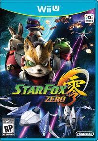 Caja de Star Fox Zero