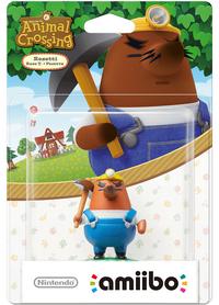 Embalaje europeo del amiibo de Rese T - Serie Animal Crossing