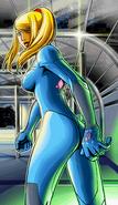 Samus Zero en Metroid Zero Mission