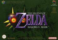Caja de The Legend of Zelda - Majora's Mask (Europa)