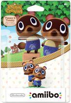 Embalaje americano del amiibo de Tendo y Nendo - Serie Animal Crossing