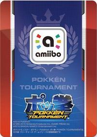 Reverso amiibo Mewtwo Oscuro (Japón) - Serie Pokkén Tournament