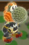 Patrón Ganondorf - Yoshi's Woolly World