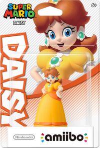 Embalaje americano del amiibo de Daisy - Serie Super Mario