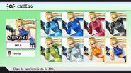 Elección de apariencia para amiibo - Super Smash Bros. for Wii U