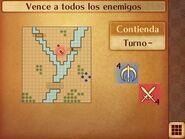 Mapa inicial de la contienda de Daraen - Fire Emblem Fates