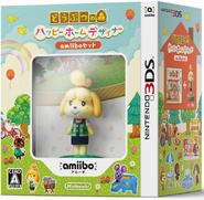 Pack de Anima Crossing Happy Home Designer y amiibo de Canela (Japón)