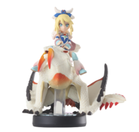 Amiibo Barioth y Avinia - Serie Monster Hunter