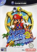 Caja Super Mario Sunshine (Europa)