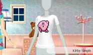 Kirby sencillo - Nintendo presenta New Stlye Boutique 3 Estilismo para celebrities