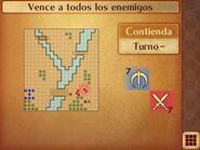Mapa inicial de la contienda de Marth - Fire Emblem Fates