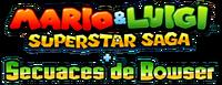 Logo de Mario & Luigi - Superstar Saga + Secuaces de Bowser