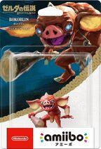 Embalaje japonés del amiibo de Bokoblin - Serie The Legend of Zelda