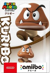 Embalaje japonés del amiibo de Goomba - Serie Super Mario