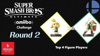 "Nintendo NY amiibo Challenge ""Top 4 Figure Players"" - Round 2"
